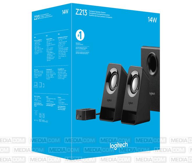 Lautsprecher Z213, Audio, Stereo 2.1, 14W