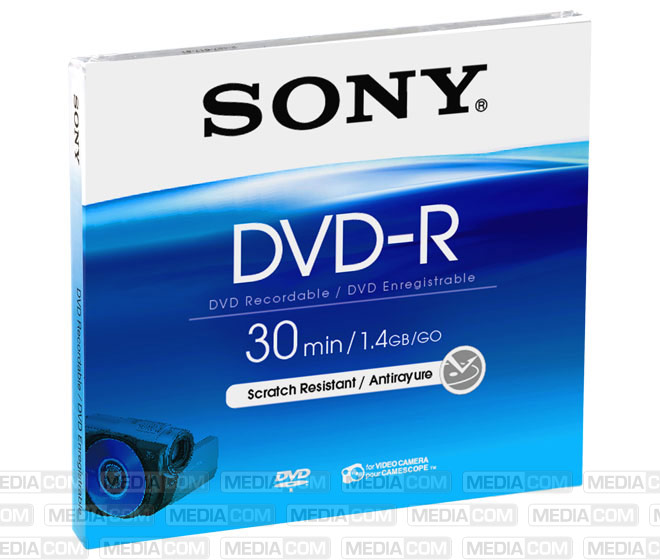 DVD-R 8cm 30Min/2x Jewelcase (5 Disc)