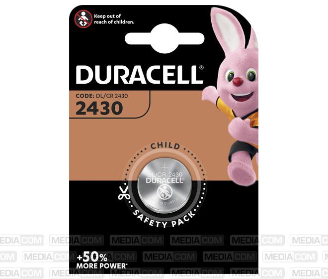 Batterie Lithium, Knopfzelle, CR2430, 3V