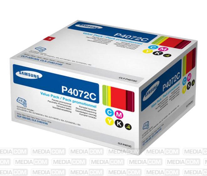 Lasertoner CLT-P4072C, Rainbow Pack