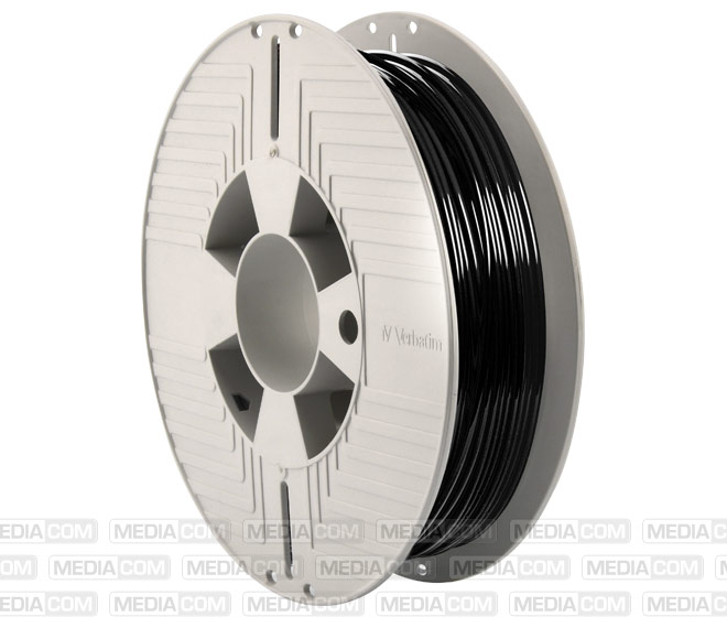 3D Printer Filament, Teflabloc, 2.85mm, 500g, schwarz