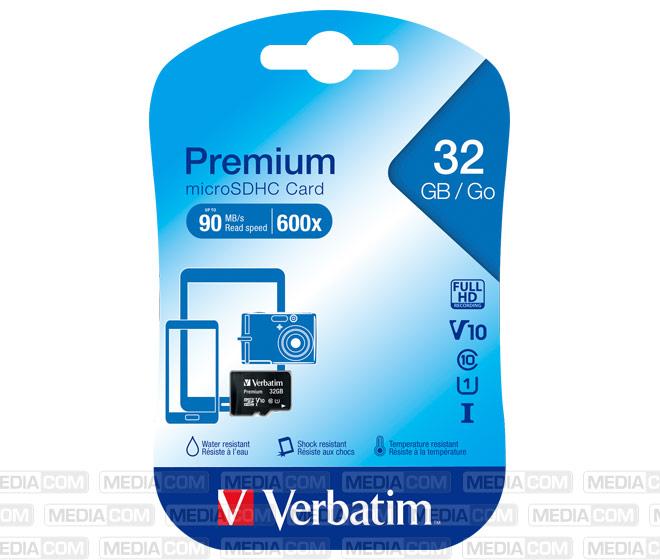 microSDHC Card 32GB, Premium, Class 10, U1