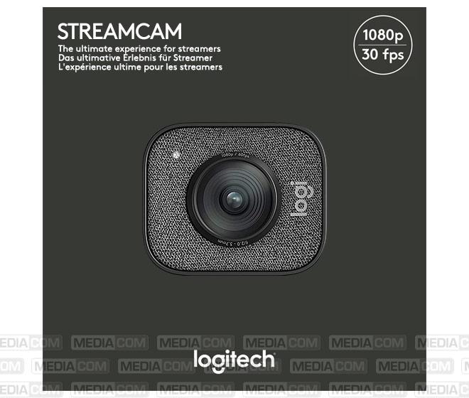 Webcam StreamCam, USB 3.1-C, Full HD 1080p