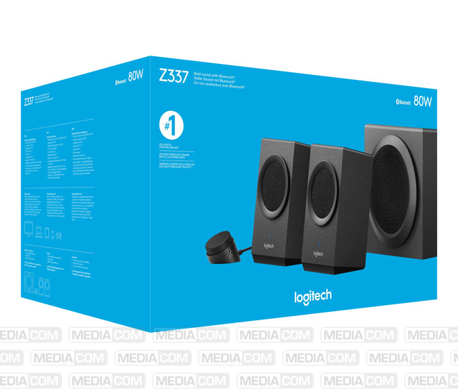 Lautsprecher Z337, Bluetooth, Stereo 2.1, 40W