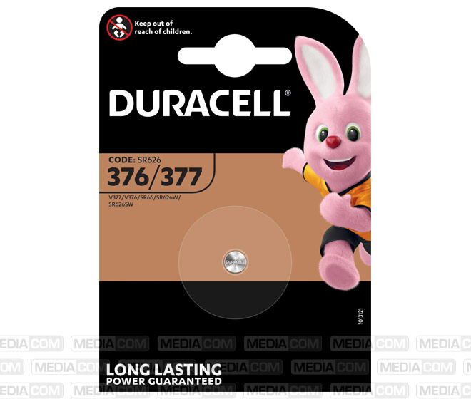 Batterie Silver Oxide, Knopfzelle, 376/377, SR66, 1.5V