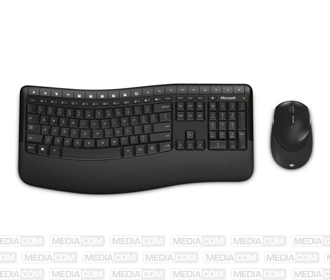 Tastatur/Maus Desktop 5050, Wireless, schwarz