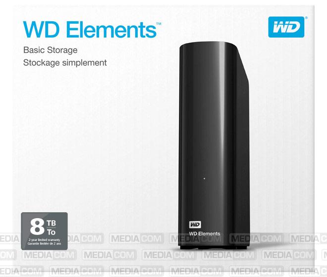 """Festplatte 8TB, USB 3.0, 8.89cm (3.5""""), schwarz"""
