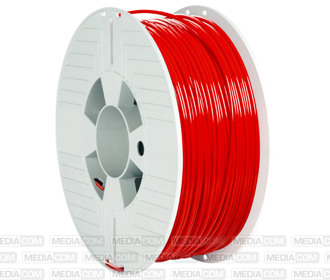 3D Printer Filament, PLA, 2.85mm, 1kg, rot
