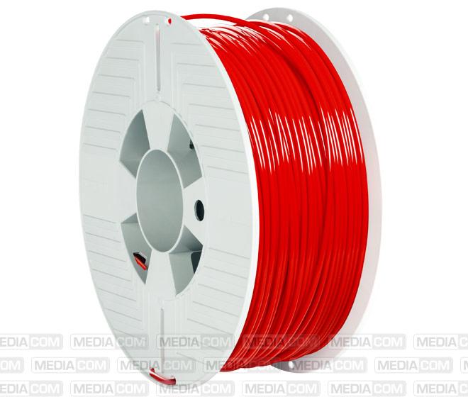 3D Printer Filament, PLA, 2.85mm, 1kg, rot