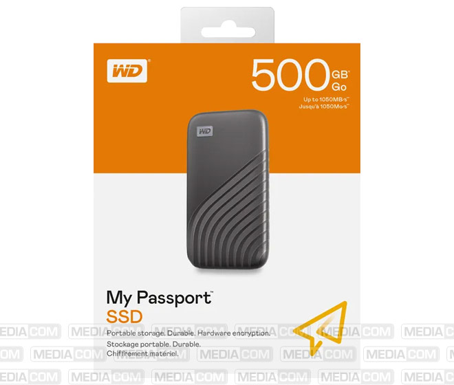 SSD 500GB, USB 3.2, Typ C, 4.57cm (1.8'')