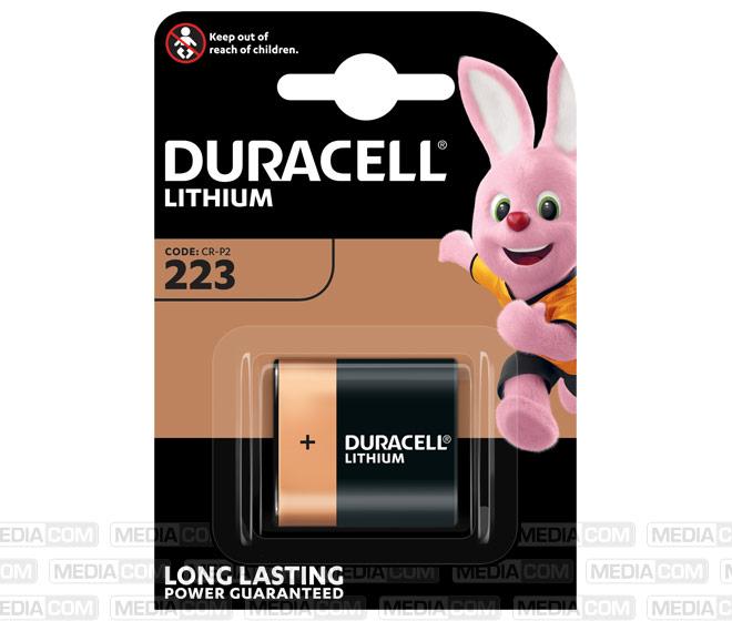Batterie Lithium, CR-P2, 223, 6V