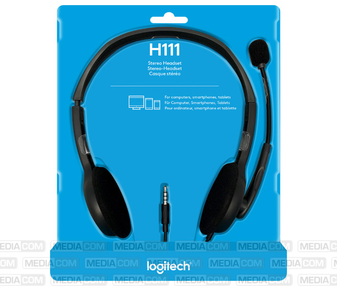 Headset H111, Audio, Stereo