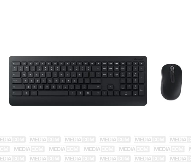 Tastatur/Maus Desktop 900, Wireless, schwarz