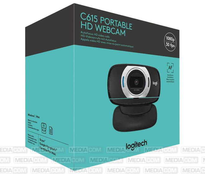 Webcam C615, HD 1080p, schwarz