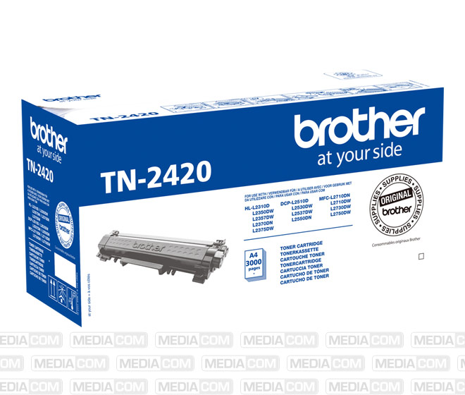 Lasertoner TN-2420 schwarz