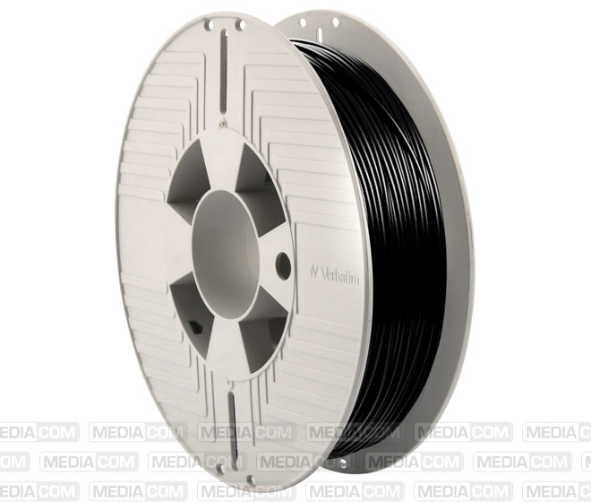 3D Printer Filament, Teflabloc, 1.75mm, 500g, schwarz