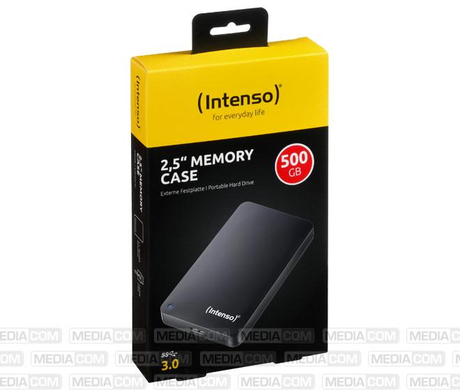 Festplatte 500GB, USB 3.0, 6.35cm (2.5''), schwarz