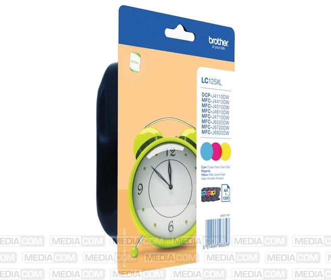 Tinten Multipack LC-125XL Value Pack (3er Set)