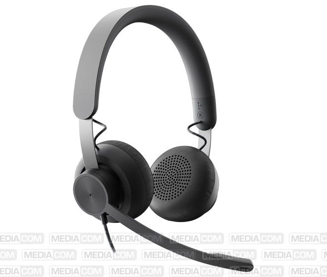 Headset Zone Wired MS, USB, Stereo