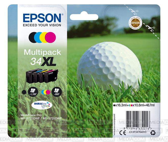 Tinten Multipack 34 XL (4er Set)