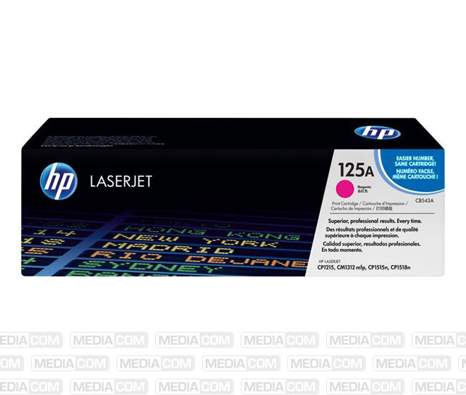 Lasertoner CB543A magenta