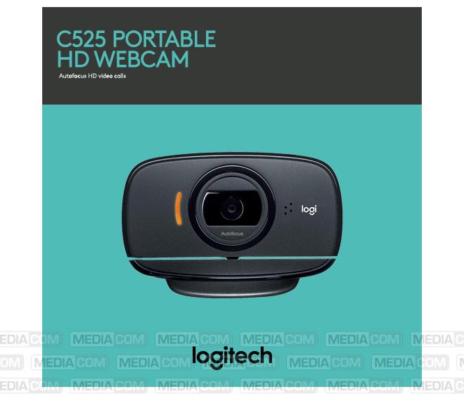 Webcam C525, USB, HD 720p