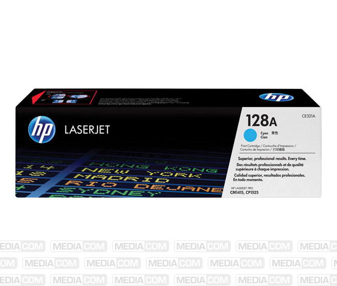 Lasertoner CE321A cyan