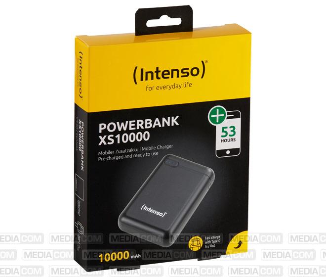 Akku Powerbank XS10000, 5V/10.000mAh, schwarz