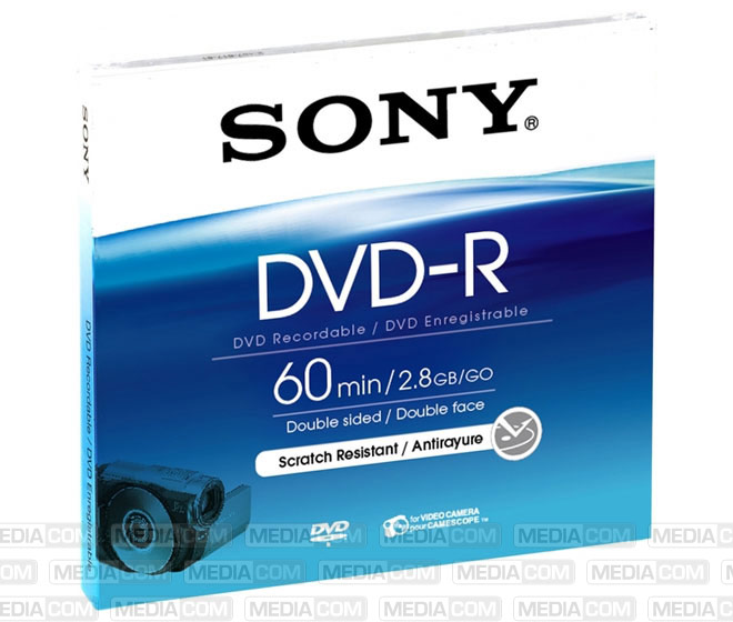 DVD-R 8cm 60Min/2x Jewelcase (5 Disc)
