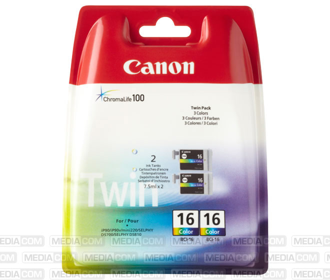 Tinten Doppelpack BCI-16C color