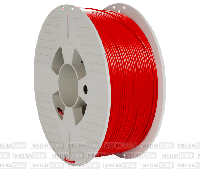 3D Printer Filament, ABS, 1.75mm, 1kg, rot