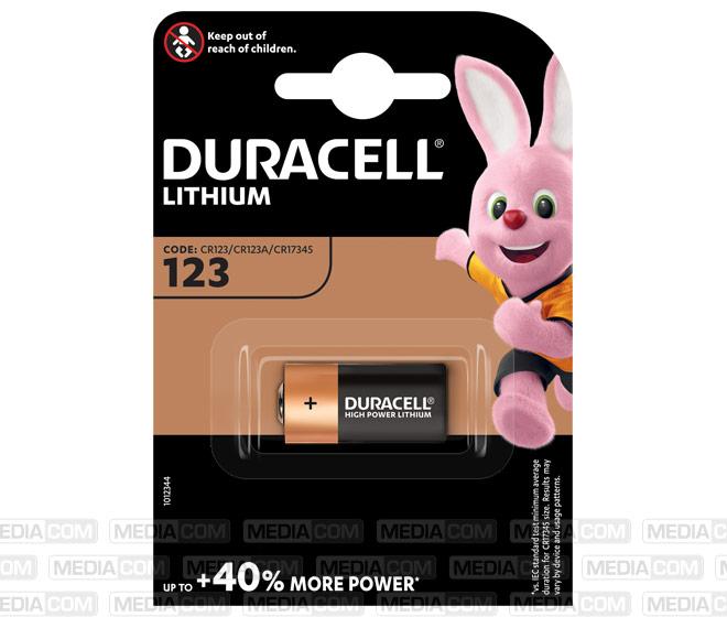 Batterie Lithium, CR123A, 3V