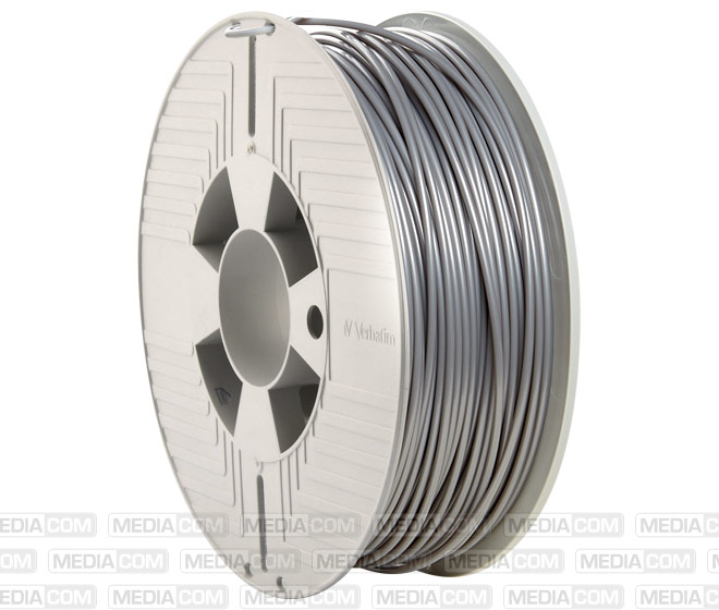 3D Printer Filament, PLA, 2.85mm, 1kg, silber