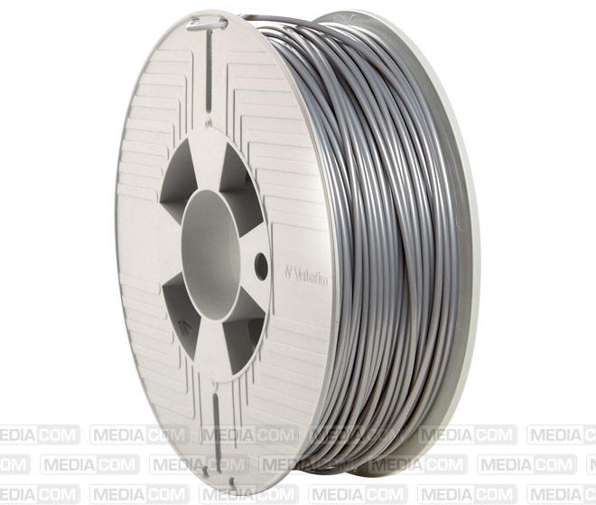 3D Printer Filament, PLA, 2.85mm, 1kg, silber