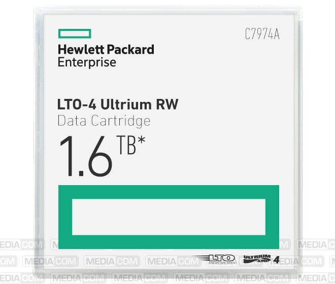 LTO Ultrium-4 Cartridge 800GB/1.6TB