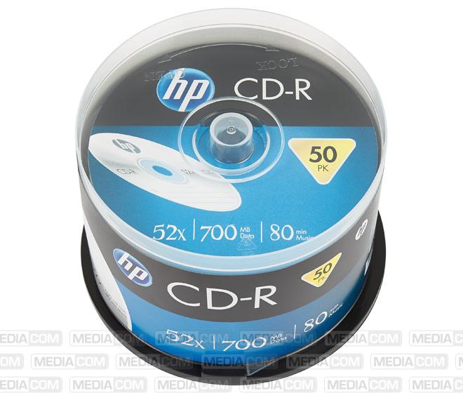 CD-R 80Min/700MB/52x Cakebox (50 Disc)