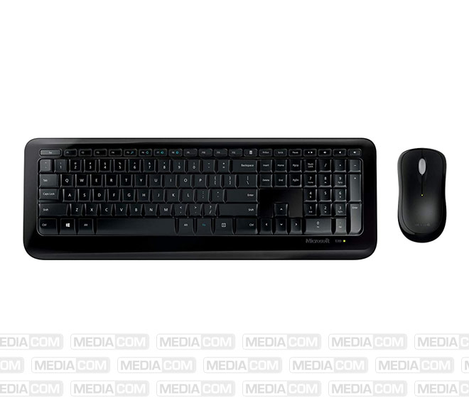 Tastatur/Maus Desktop 850, Wireless, schwarz
