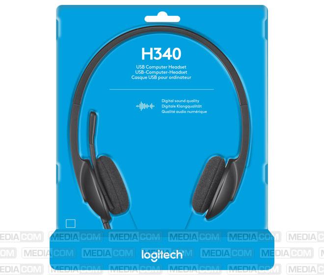 Headset H340, USB, Stereo